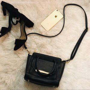 Handbags - Black Crossbody Purse